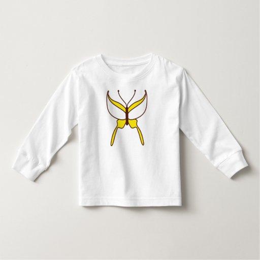 Butterfly Flight T-shirt - Yellow