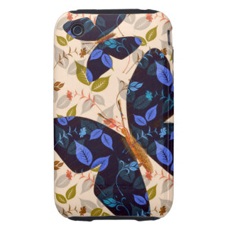 Butterfly Flight Tough iPhone 3 Cover