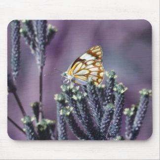 Butterfly Flitter Flutter vintage Mouse Pad
