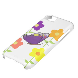 Butterfly Floral Blossoms Destiny Gardens iPhone 5C Cover