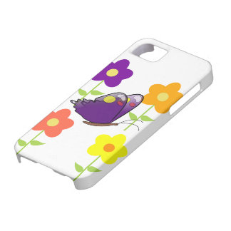 Butterfly Floral Blossoms Destiny Gardens iPhone SE/5/5s Case