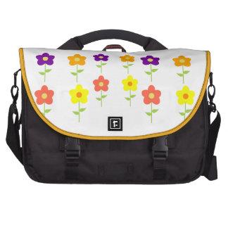 Butterfly Floral Blossoms Destiny Gardens Laptop Bag