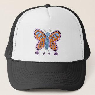 Butterfly Floral Blossoms Destiny Gardens Trucker Hat