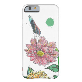 Butterfly Flower Barely There iPhone 6 Case
