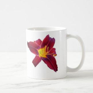 Butterfly & Flower Classic White Coffee Mug