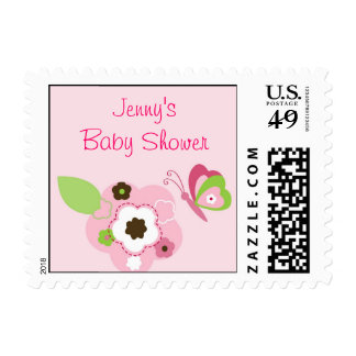 Butterfly Flower Garden Postage Stamps