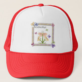 Butterfly Flower Godmother Mothers Day Gifts Trucker Hat