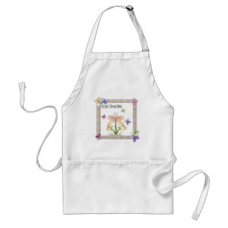 Butterfly Flower Great Grandma Mothers Day Gifts Adult Apron