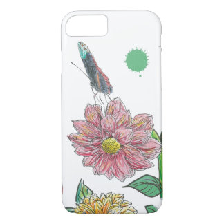 Butterfly Flower iPhone 8/7 Case