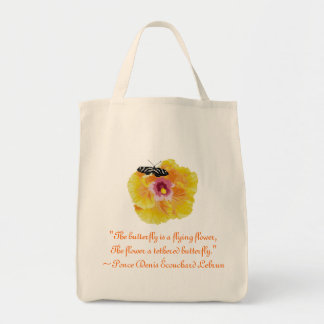 Butterfly Flower Ponce Denis Ecouchard Lebrun Quot Canvas Bag