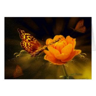Butterfly & Flower Sympathy Card