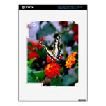 BUTTERFLY FLOWERS 1 iPad 3 SKINS