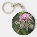 Butterfly Flowers 2 Keychains