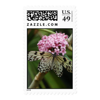 Butterfly Flowers 2 Postage
