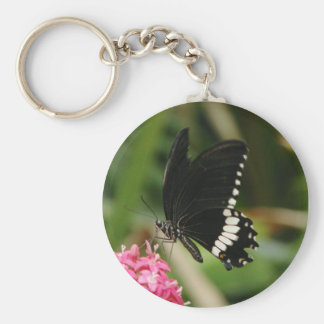 Butterfly Flowers 3 Key Chains