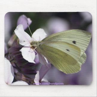 Butterfly & Flowers Garden-lovers Mousepad
