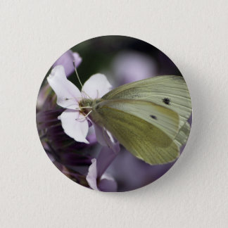 Butterfly & Flowers Gifts Button