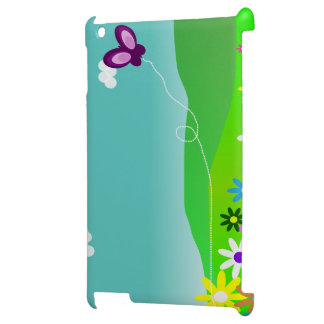 Butterfly & Flowers iPad Cases