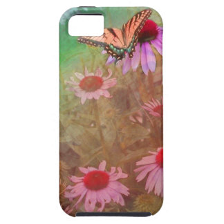 Butterfly & Flowers iPhone 5 Case