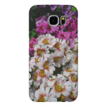 Butterfly Flowers Pink White and Purple Floral Samsung Galaxy S6 Case