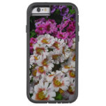 Butterfly Flowers Pink White and Purple Floral Tough Xtreme iPhone 6 Case