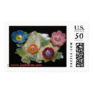 Butterfly/Flowers Postage