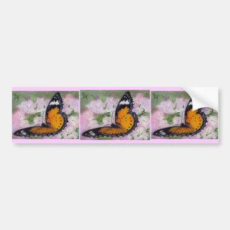 Butterfly Flutter aceo Bumper Sticker