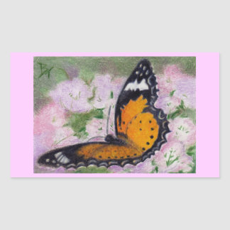 Butterfly Flutter aceo Sticker