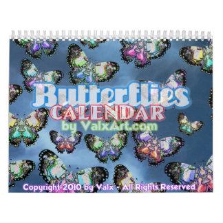 Butterfly Flutterby in Valxart calendar