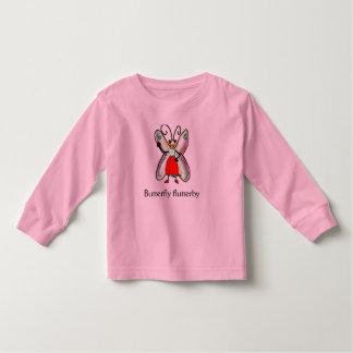 Butterfly flutterby toddler t-shirt