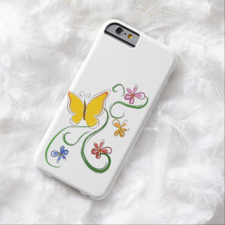 Butterfly Fly Free Barely There iPhone 6 Case
