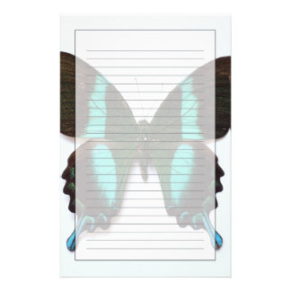 Butterfly found in regions of Asia and India Stationery