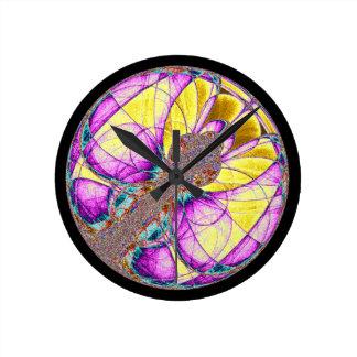 Butterfly Fractal Clocks