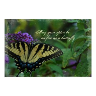 Butterfly Free Spirit Poster Print print