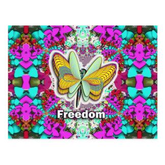 Butterfly Freedom Postcard