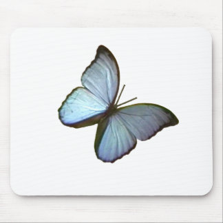 Butterfly Freiburg Germany Blue 45 deg The MUSEUM Mouse Pad