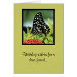 Butterfly Friend Birthday Card