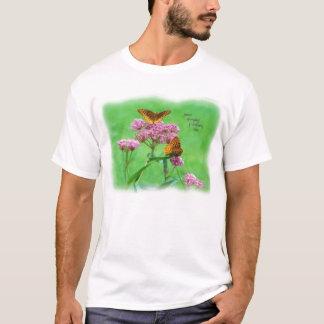 butterfly_fritillary_great_duo_8994_Paint T-Shirt