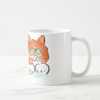 Butterfly, Frog and Kitten Coffee Mug