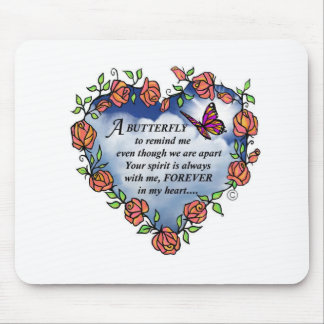 Butterfly from Heaven Mouse Pad