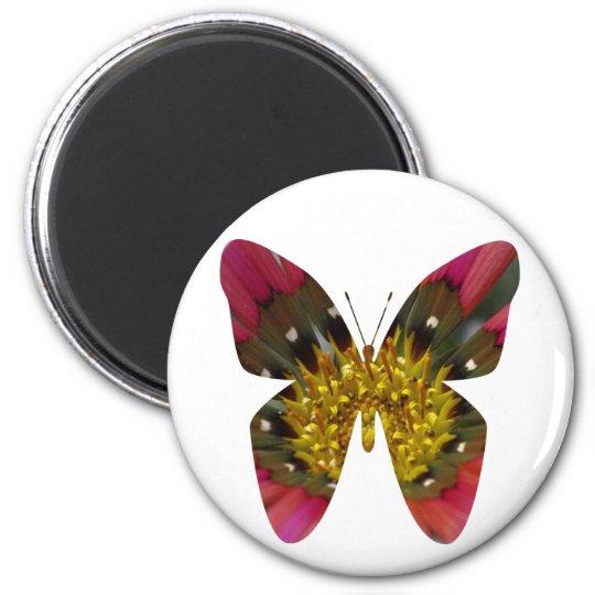 Butterfly fun magnet