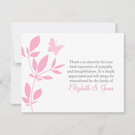 memories personalized sympathy thank you cards click view this