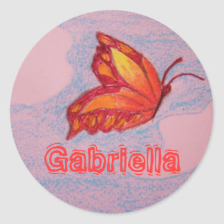 butterfly, Gabriella sticker