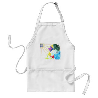 Butterfly Garden Adult Apron