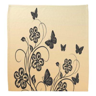 Butterfly Garden Bandana