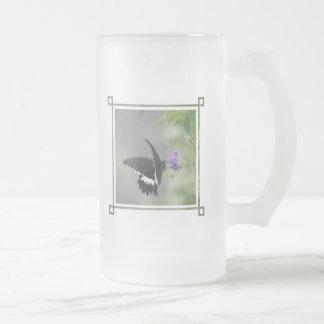 Butterfly Garden Beer Mug