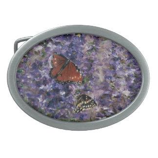 Butterfly Garden Belt Buckle