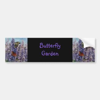 Butterfly Garden Bumper Sticker Car Bumper Sticker