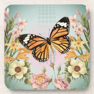Butterfly Garden-coaster Beverage Coaster