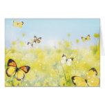 Butterfly Garden - Customize Card